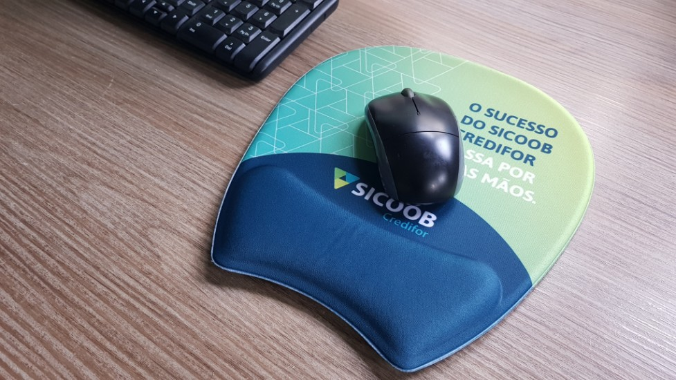 Foto de Mouse pad ergonômico ambidestro