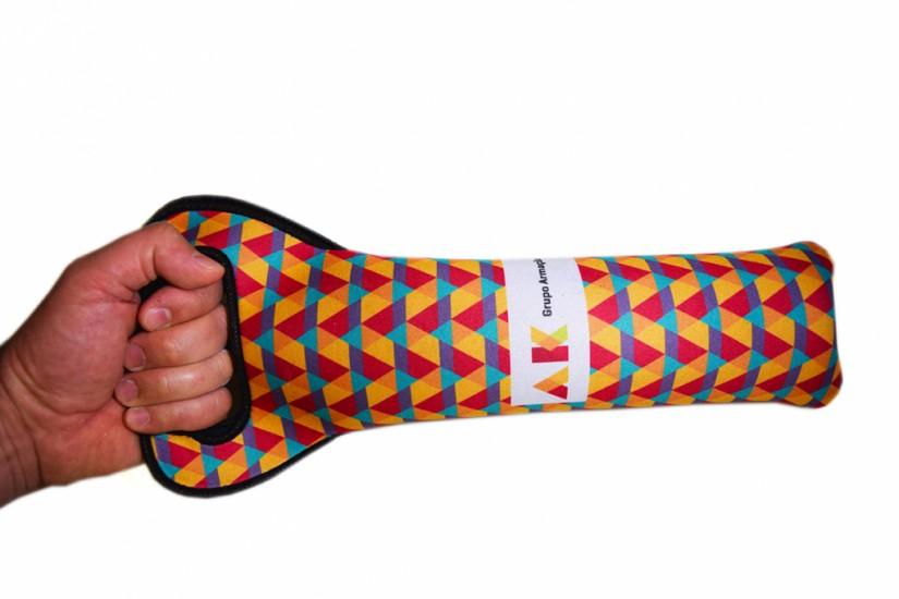 Foto de Porta Garrafas de vinho em tecido